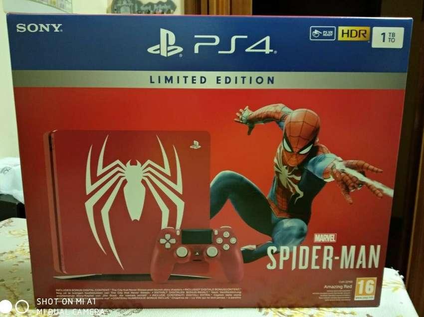 PLAYSTATION 4 SPIDERMAN 1TB NUEVO DE OPORTUNIDAD