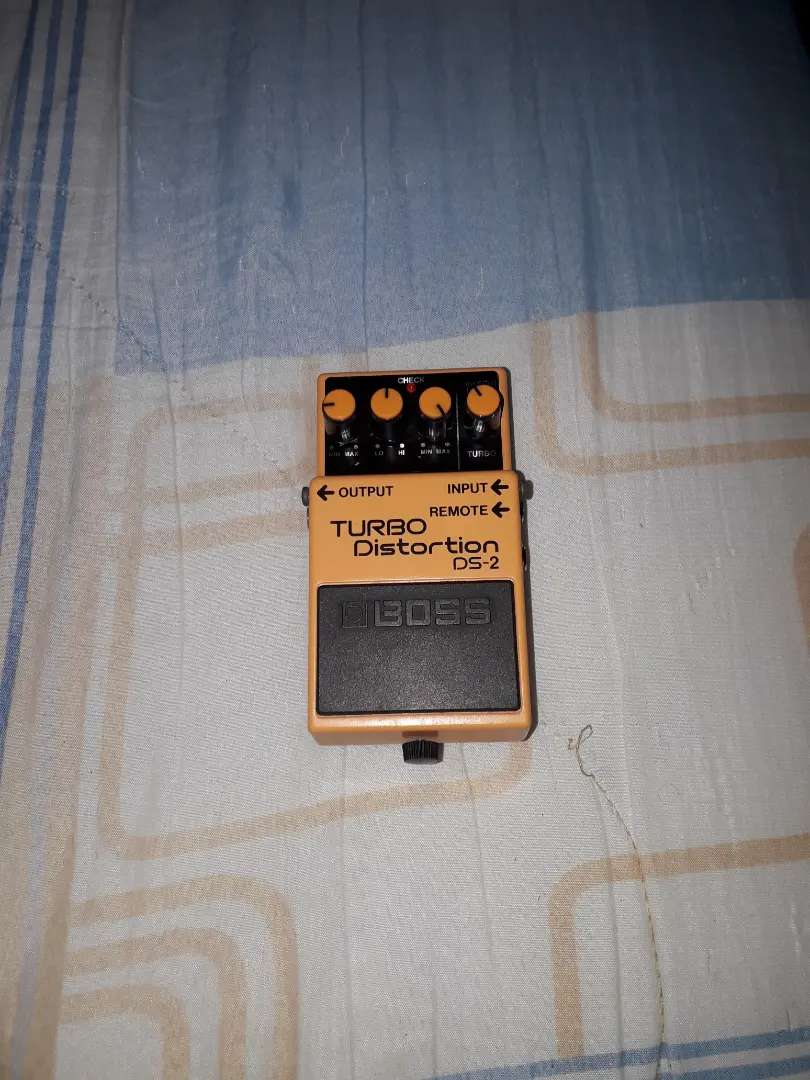 Pedal de guitarra BOSS ds2 (turbo distortion) 0