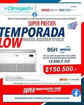 Aire Acondicionado INVERTER Bgh Piso Techo De 15000 Frigorias F/c