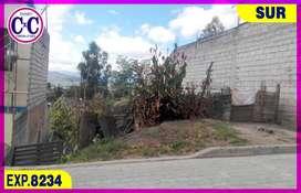CxC venta de Terreno, Cdla. Ibarra, Sur de Quito, Exp. 8234