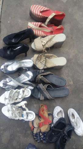 Zapatos todos en excelente estado