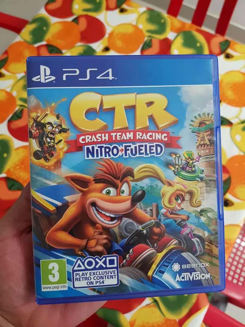 Crash Team Racing perfecto estado 0