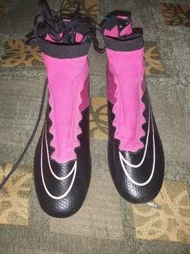 Zapatos pupos de fútbol