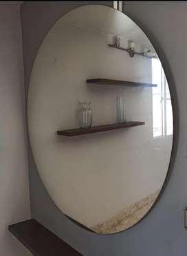 Hermoso Espejo Redondo  en oferta