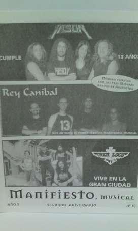 Fanzine Manifiesto nro.10 2004