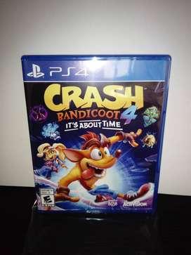 Crash bandicoot 4 incluye envio