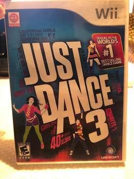Juego de Wii: Just Dance 3 original