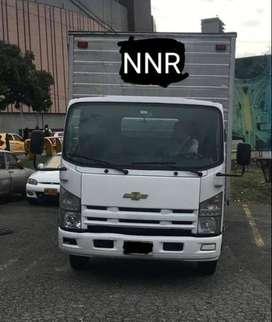 NNR 2012 Camión furgón Chevrolet