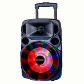 "PARLANTE BLUETOOTH BOOM BOX XTRATECH 8"" - 60W RECARGABLE / USB - MICRO SD/RADIO/ 2 MICROFONOS INA"