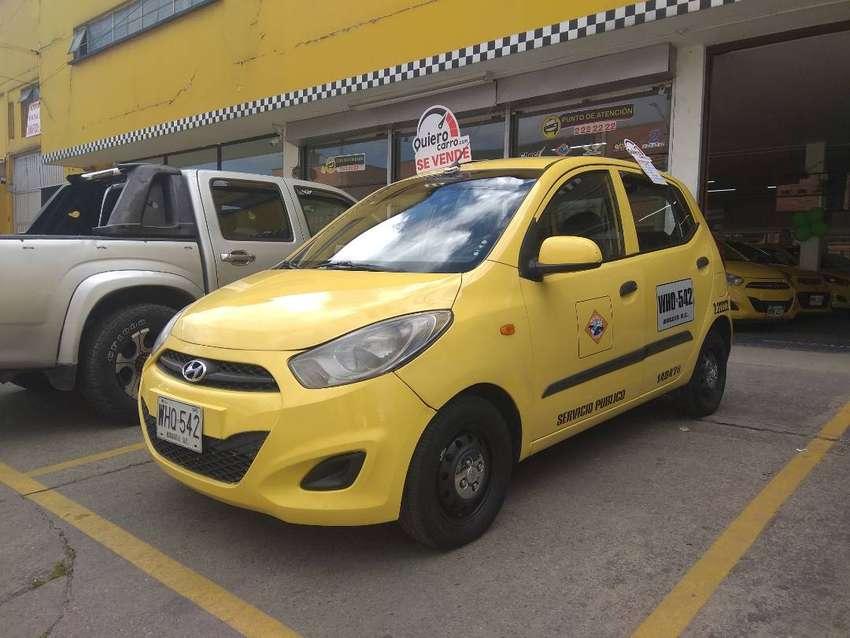 ¡Super promoción! Taxi Hyundai I10 2015 Bogota Financiamiento disponible