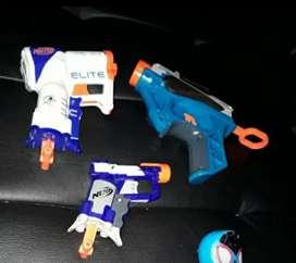 Juguete de pistola Nerf