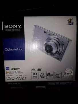 Cámara Sony cybershot dsc-w320