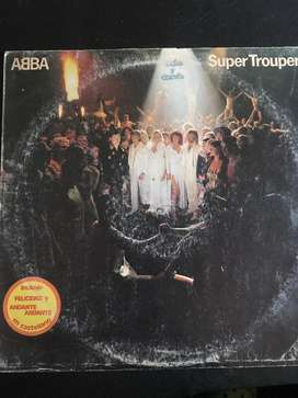 "Disco vinilo abba ""super trouper"""