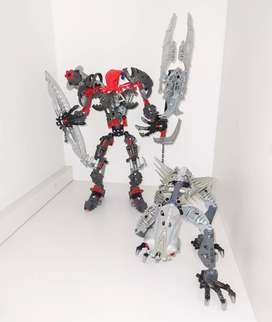 Lego Bionicle Máxilos and Spinax
