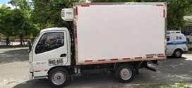 Camióneta turbo furgón con termoquin marca fotón 2016