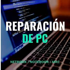Reparación de computadoras - Palermo