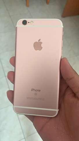 Iphone 6s de 64gb oro rosa