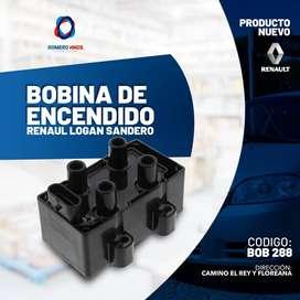 BOBINA ENCENDIDO 12V RENAULT CLIO 1.4 SCENIC 1.6 TWINGO 1.2I IC-129 LOGAN SANDERO MEGANE - ROMERO HNOS