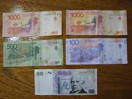 Vendo Billetes de Reposición