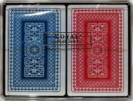 Cartas Baraja Poker Royal 100% Plastico. Original Royal