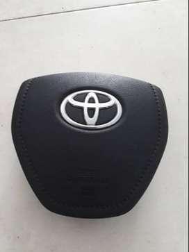 "Tapa Air Bag Volante Toyota Corolla Etios 2014/2015"")"