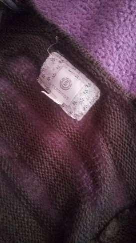 Chompa abrigo suéter Cardigan knit