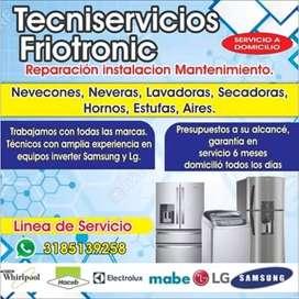 Reparaciones la libertad Especialistas en Neveras lavadoras Hornos y Estufas