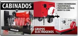 grupos electrogenos cabinados. cabinas y trailer para grupos