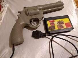 Pistola family game con 7  juegos Duck Hunt, super Mario, etc