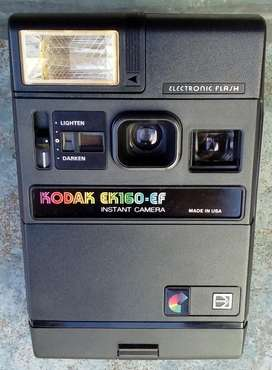 Cámara KODAK EK160-EF instantánea, made in USA