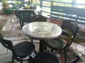 Juego de mesa y sillas comedor restaurante cafetería bar sillas plásticas