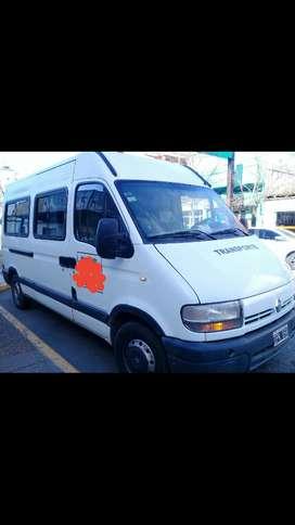 Vendo master 2009 minibus de fabrica