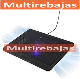 Con Luz LED  Ventilador De Laptop