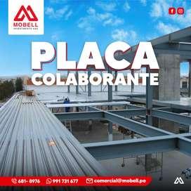 PLACA COLABORANTE - LOSAS DE CONCRETO