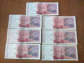 Billetes de 100 Australes