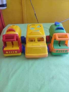 Vendo juguetes usados