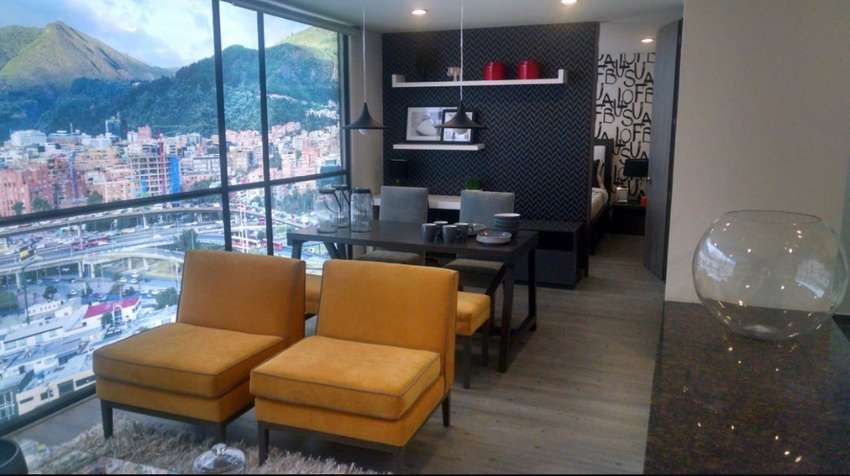 Vendo estudio tipo suite Sector La Carolina  desde 23m2 0