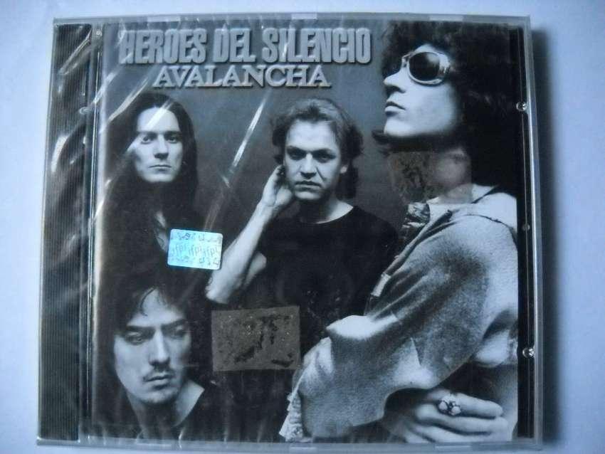 heroes del silencio avalancha cd nuevo sellado 0