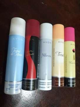 Desodorantes en spray Avon