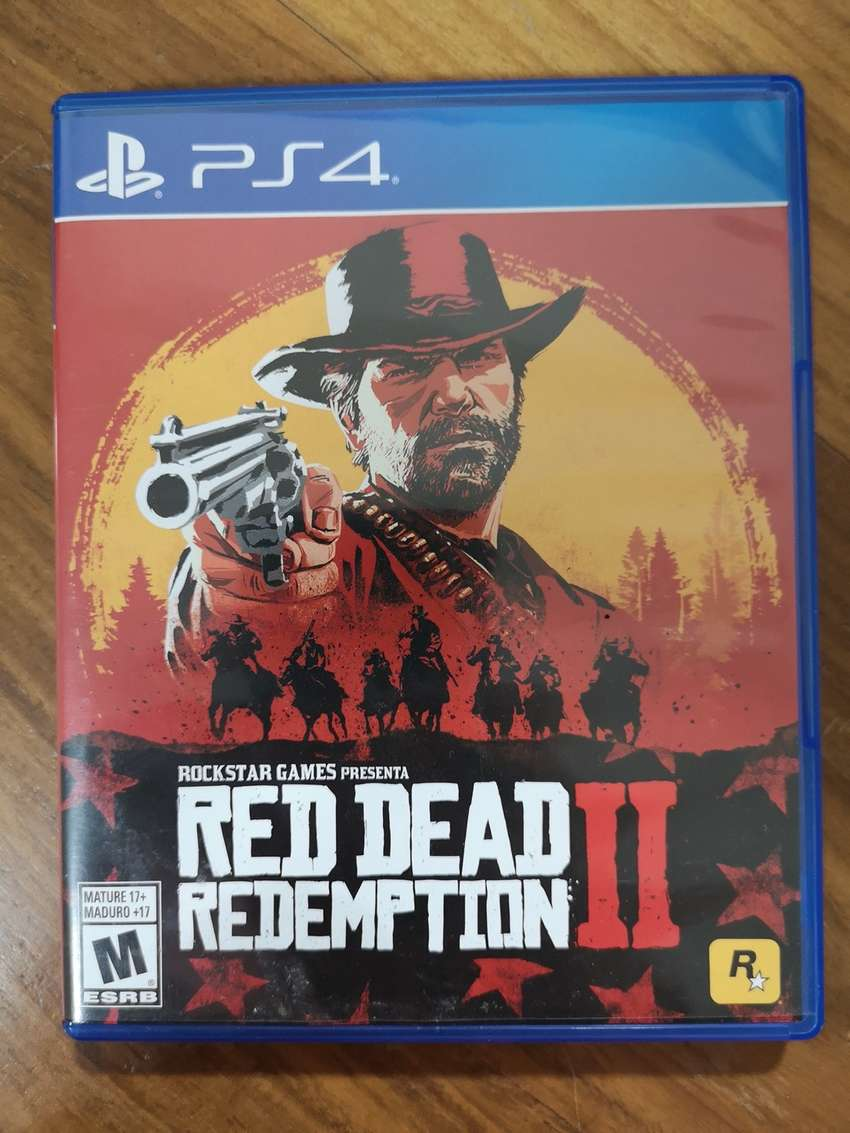 Juego - Red Dead Redepmtion II para PS4 0