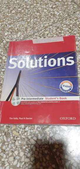 Libro Solutions pre-intermediate