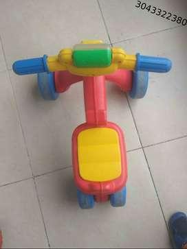 Triciclo Fisher Price Carro De Impulso Caminador