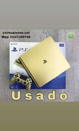 PS4 edición golden