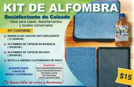 Kit de alfombra desinfectante