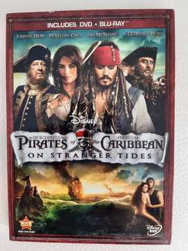 DVD Blue Ray Piratas del Caribe