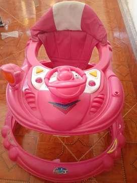 Caminador  de niña usado