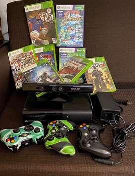 Todo original - Xbox 360 slim dd 500Gb