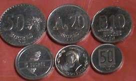 Paquete Monedas Ecuador