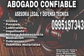 ABOGADO DEFENSOR LEGAL DE SU CASO