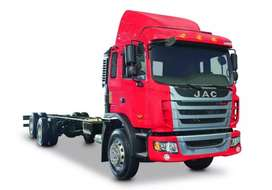 Camión JAC 20 toneladas chasis EURO 4 - HFC1161 CH 6X2 E4  20 TON eje loco